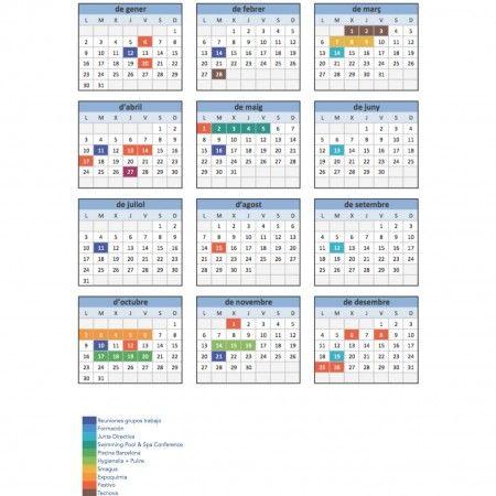 Calendario 2017 Cliqib