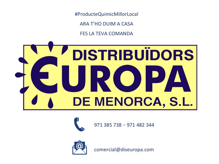 DISTRIBUÏDORS EUROPA DE MENORCA